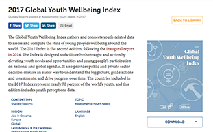 IYF library 2017 Global Youth Wellbeing Index