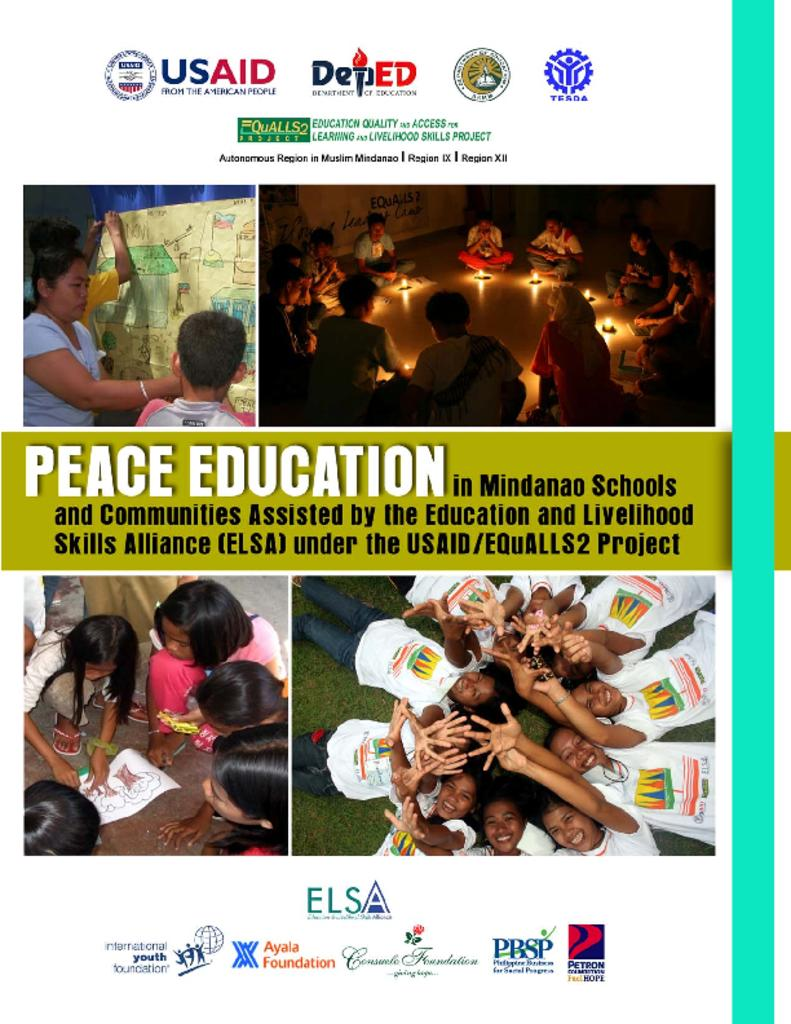 peace education Call for manuscripts the editors of this series welcome manuscripts that address how peace education provides information about the roots of conflicts and strategies.