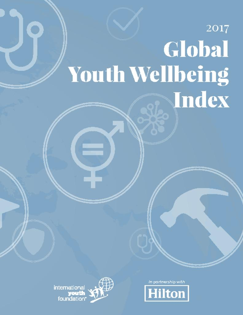2017 global youth wellbeing index international youth foundation back to library buycottarizona