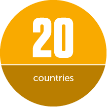 20 countries