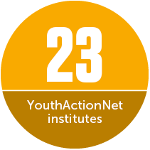 23 YouthActionNet institutes