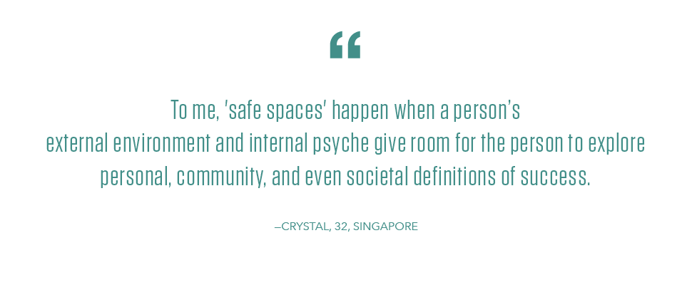 Youth Day quote from YouthActionNet Laureate Global Fellow Crystal Goh in Singapore