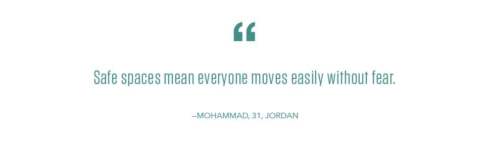 Youth Day quote from a BADIR Fellow Mohammad in Jordan