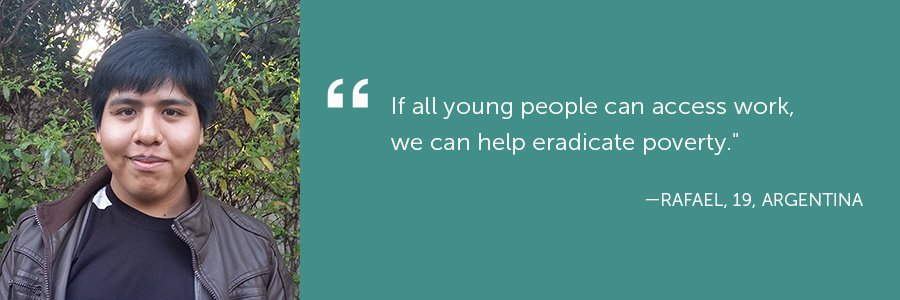 How as a youth would i eradicate poverty from my country ?